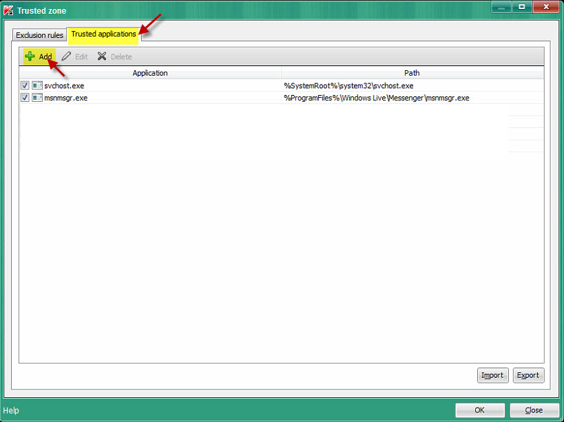 Kaspersky: How to allow TeamViewer remote control access to